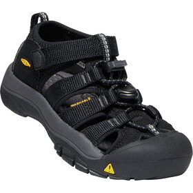 Keen Newport H2 Chaussures Enfant, black/keen yellow